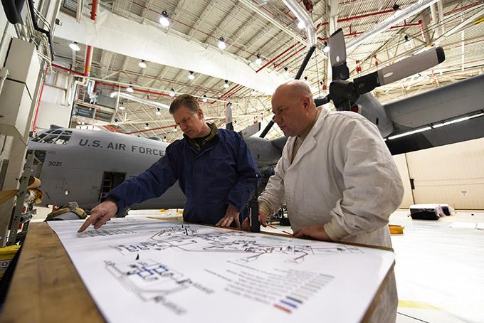 Preparing for the KC-135 Stratotanker