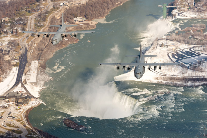 Thunder over Niagara Falls