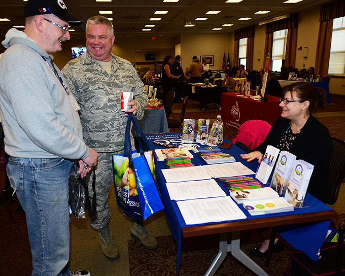 Niagara personnel participate in Wellness Fair
