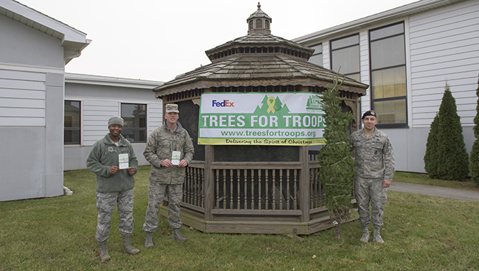 Trees donated to troops in need
