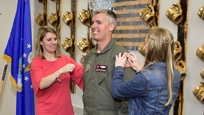 Lt. Col. Schieber promoted to Colonel