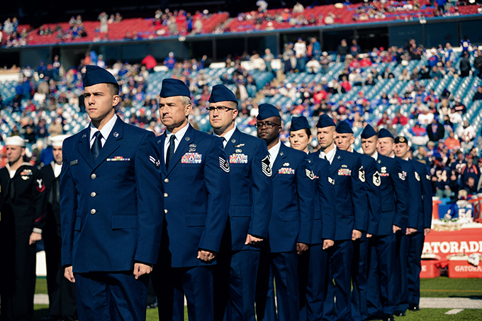 A salute to service