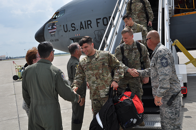 Niagara maintainers return home from deployment