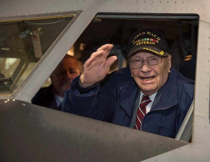 Niagara grants WWII vet his senior wish