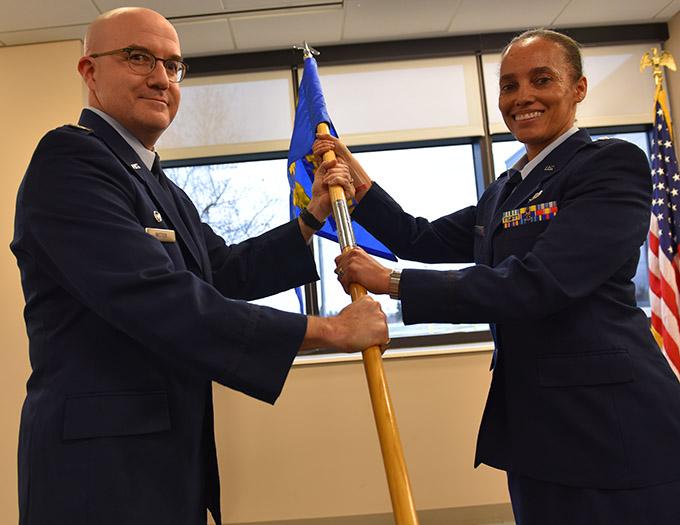 Lt. Col. Bowman takes command of 914 FSS